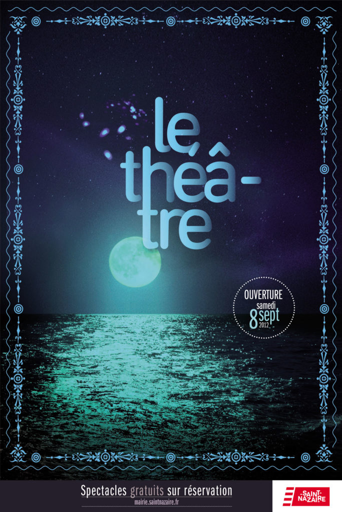 Théâtre Saint Nazaire page de couverture logo