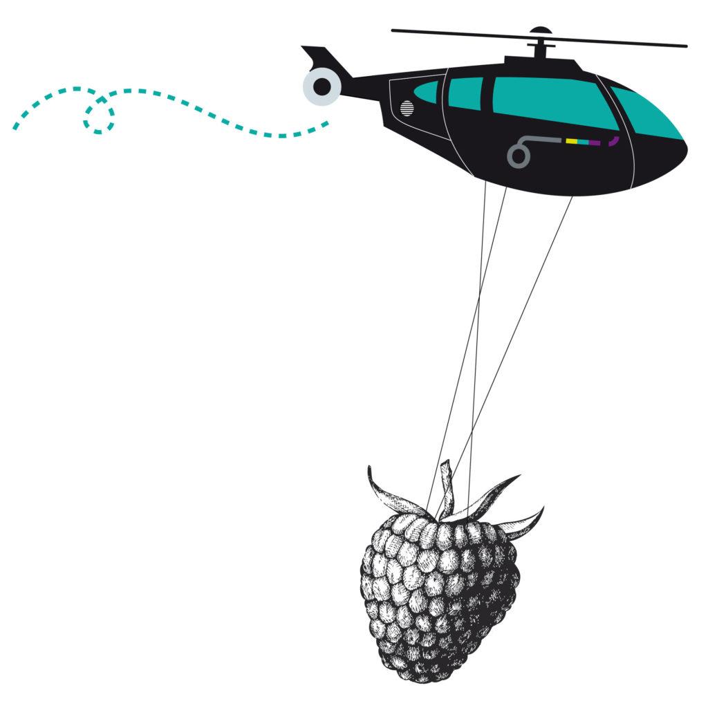 Coulvé hélicoptère