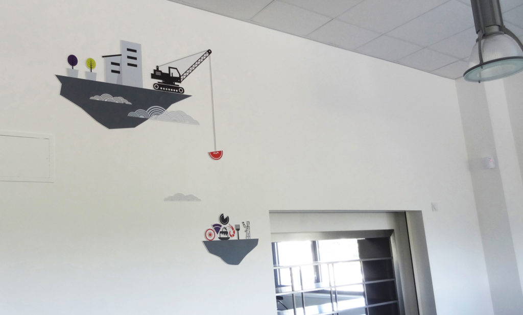 Coulvé design mural