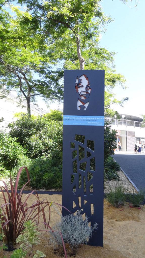 Nelson Mandela plaque